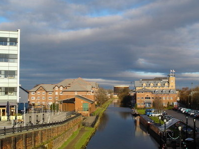 Bridgewater Canal In Centre Of  Sale