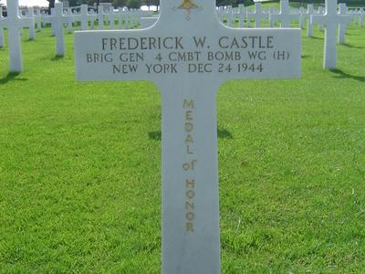 Tomb Of Brigadier General Frederick Walker Castle