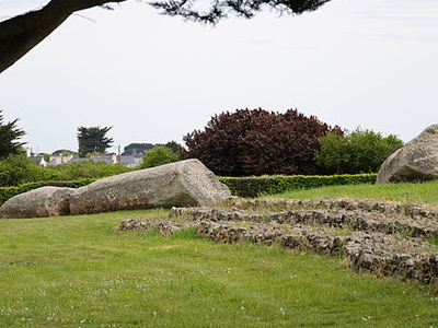 Broken Menhir Of Er Grah - Brittany - France