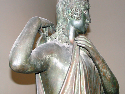 Bronze From The Villa Of The Papyri