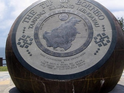 Bronze Globe Of Simpang Mengayau