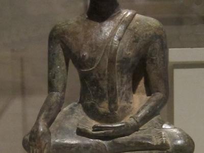 Bronze Seated Buddha At Wat Chai Mongkhon