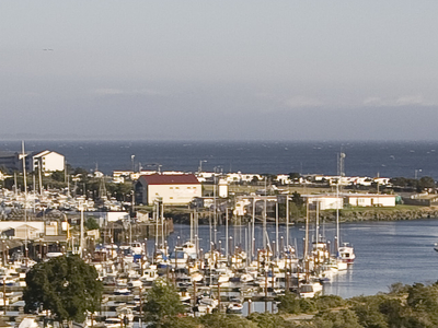 Brookings Harbor And The Mouth Of The Chetco River