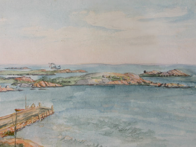 Brownell Charles De Wolf From The Ocean House Groton