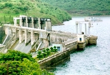Bhadra Reservoir Project Dam
