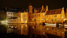 Bruges Night View