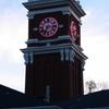 Bryan Tower On The Pullman Wsu Campus At Twilight