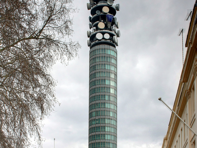 BT Tower From Conway Street