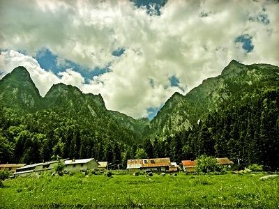 Bucegi Mountains At Prahova Valley - Romania