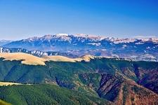 Bucegi Mountains From Papusa