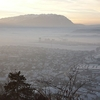 Bucegi Mountains From Rasnov Citadel
