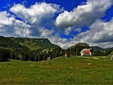 Bucegi Natural Park In Carpathians