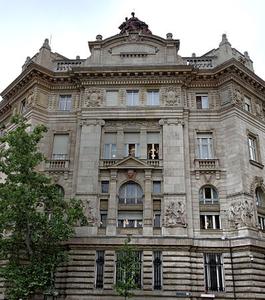 Budapest's Magyar Nemzeti Bank