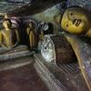 Buddha Idols Inside Dambulla Cave Temple