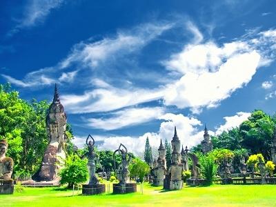 Buddha Park - Laos Vientiane