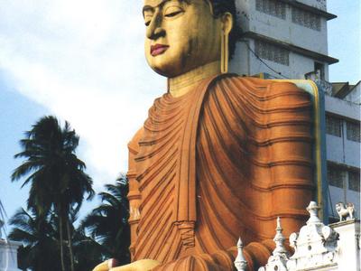 Buddha Statue In Dickwella