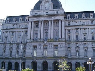 Buenos Aires Central Post Office Front