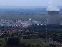 Bugey central nuclear