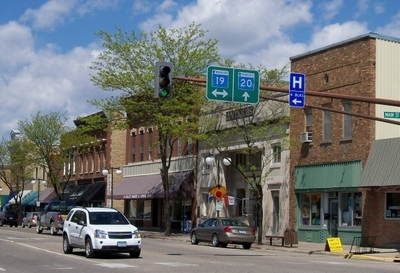 Buildings In Downtown Cannon Falls