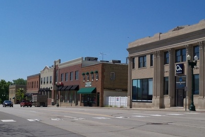 Buildings In Downtown Chaska