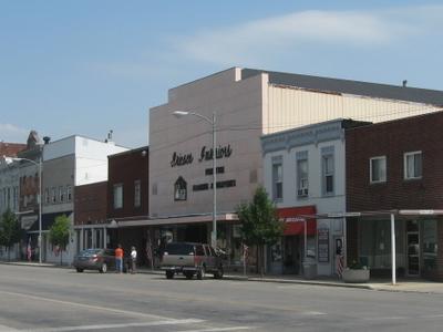 Buildings In Downtown Wauseon