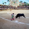 Bullring In The Town During A Bullfight