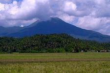 Bulusan Volcano From Rice Fields Of Bulusan