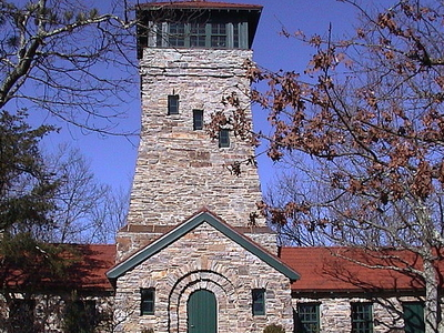 Bunker Tower On Top Of Cheaha Mountain