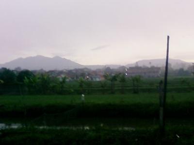 Burangrang And Tangkuban Parahu Mount