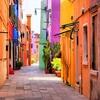 Burano Near Venice