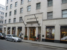 Burberry Store On Bond Street
