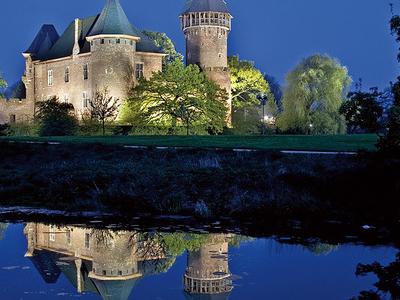 Burg Linn Nacht