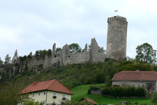Burgruine Waxenberg, Upper Austria, Austria