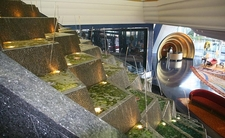 Lobby And Fountain In The Burj Al Arab