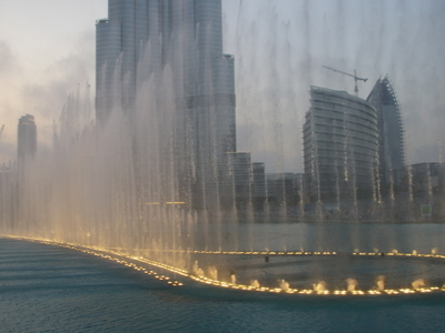 Burj Khalifa Fountain