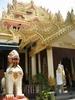 Burmese Temple In Malaysia