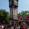 Clock Tower In Banbury Crossing