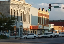 Business District Of Emporia