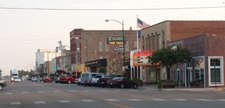 Business District Of Larned