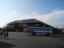 Bus Leaving Matara