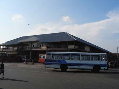 Bus Leaving Matara