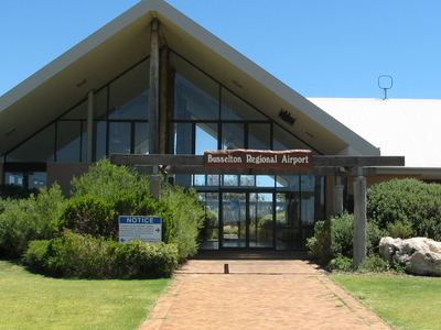 Entrance To Busselton Regional Airport