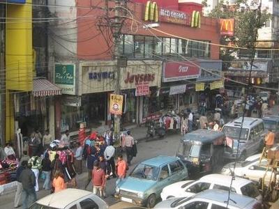 Busy Market On  Ajmal  Khan  Road  2 C  Karolbagh  2 C  New  Del