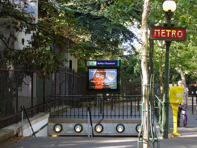 Buttes Chaumont Station