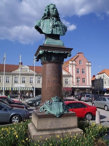 Statue Of Jonas Alströmer