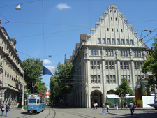The Bahnhofstrasse Seen From Paradeplatz