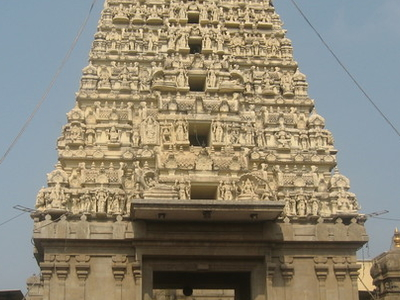 Balaji Temple Rajagopuram Nerul