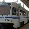 Light Rail Vehicle At BWI Station
