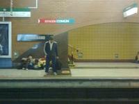 A Estação de Metro Baquedano