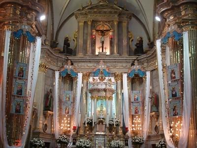 Interior Of The Basilica Of Zapopan